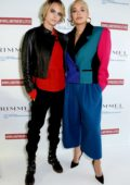 Rita Ora and Cara Delevingne attends the launch of #IWILLNOTBEDELETED campaign by Rimmel to tackle the issue of beauty cyberbullying in London, UK