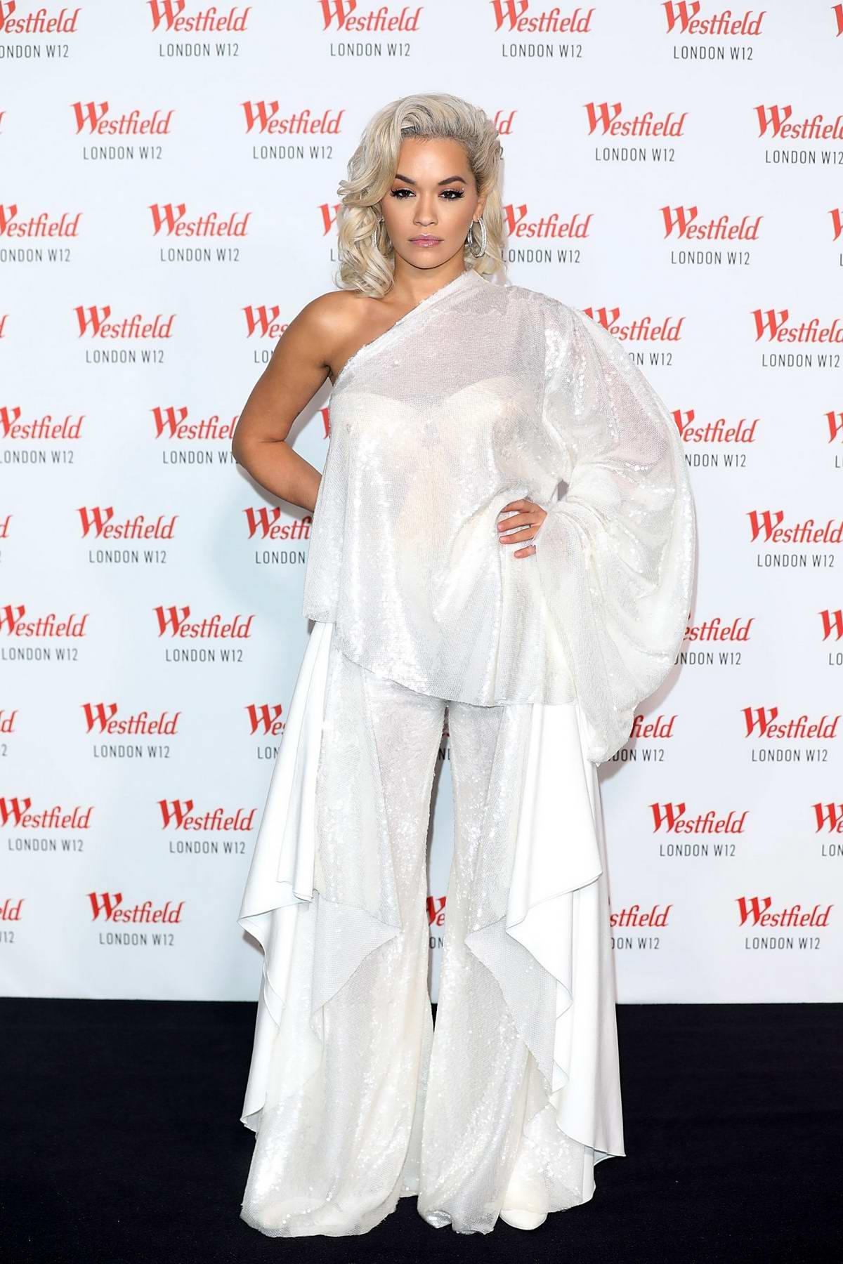 Rita Ora attends Westfield London's 10th Anniversary Celebrations in London, UK
