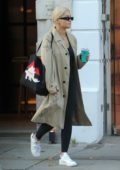 Rita Ora grabs a smoothie while leaving Bodyism gym in Notting Hill, London, UK
