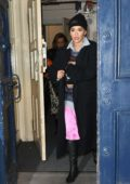 Rita Ora leaving the Royal Drury Lane Theatre in London, UK