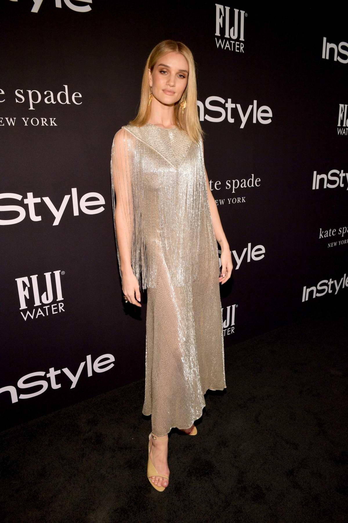 Rosie Huntington-Whiteley attends the 4th Annual InStyle Awards 2018 at the Getty Center in Los Angeles