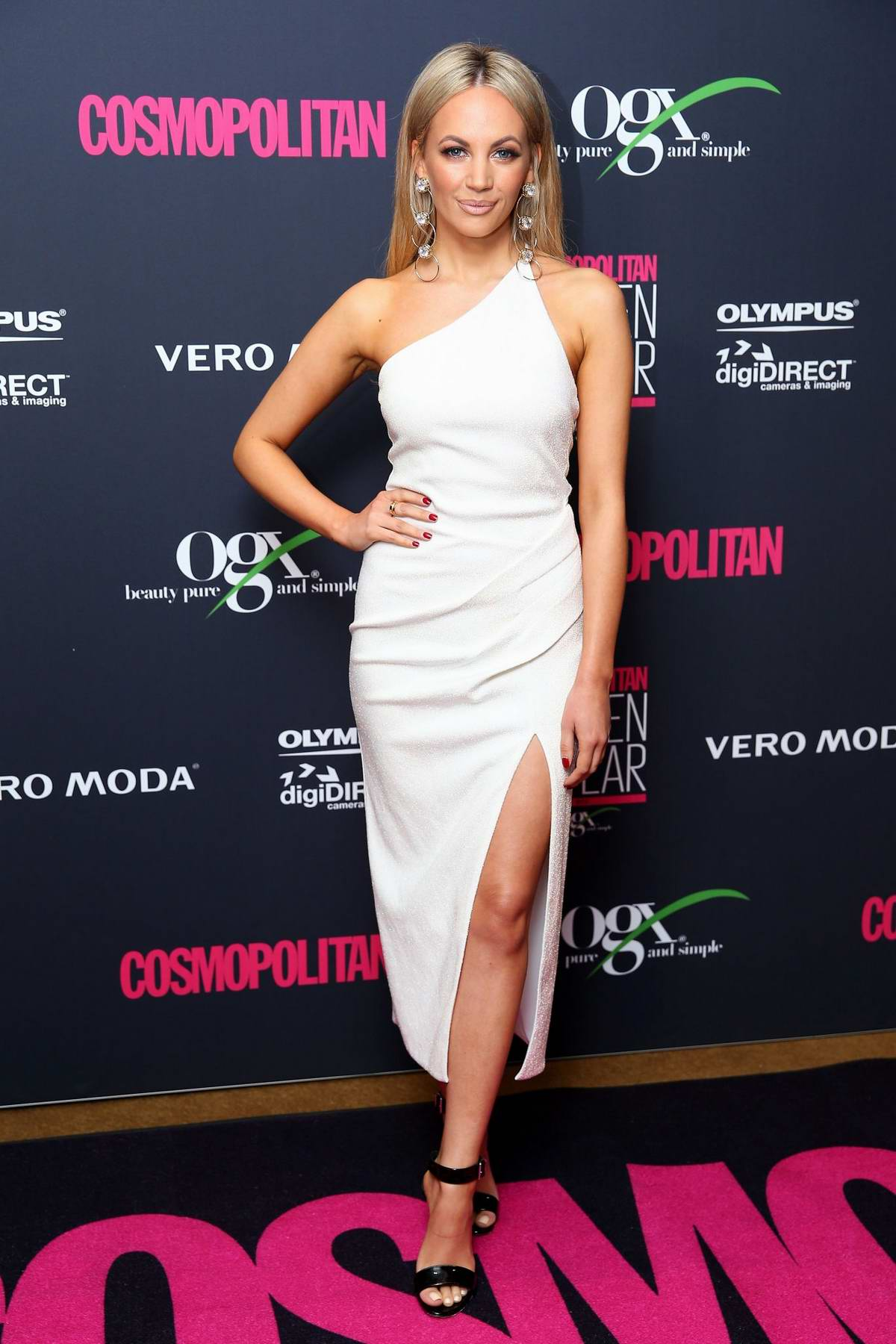 Samantha Jade attends the Cosmopolitan Women Of The Year Awards 2018 in Sydney, Australia