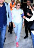 Shakira touches down at Mexico City International Airport, Mexico