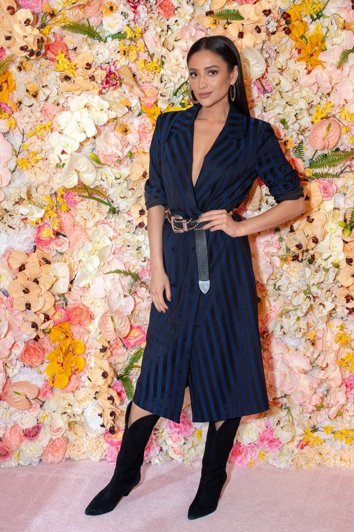 Shay Mitchell makes an appearance at REVOLVE NYC Pop-Up Store in New York City