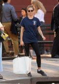 Sienna Miller spotted in her casuals as she runs errands in West Village, New York City
