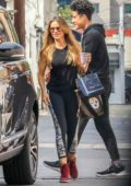 Sofia Vergara arrives for her workout session at the Heart and Hustle Gym in West Hollywood, Los Angeles
