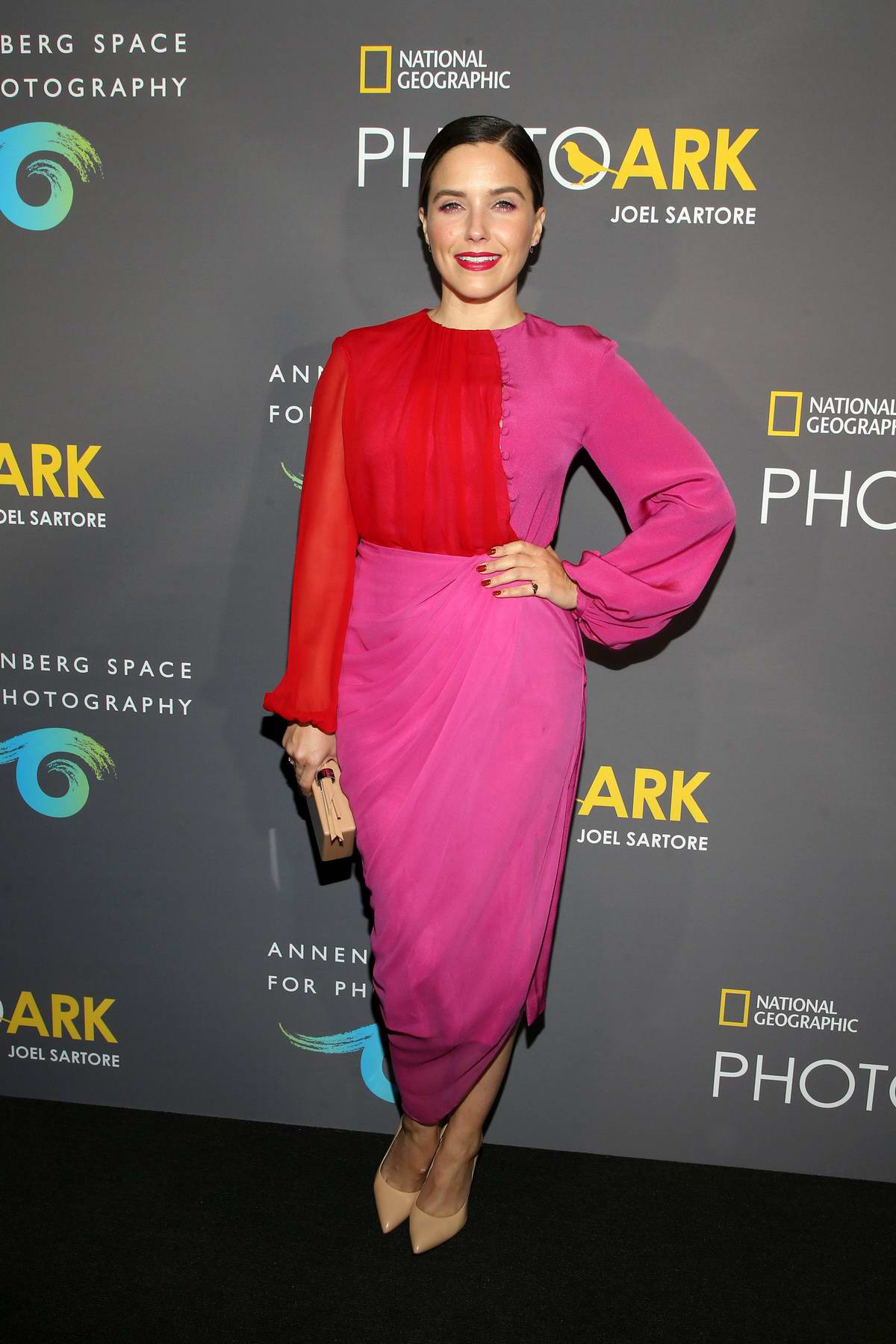 Sophia Bush attends National Geographic Photo Ark at Annenberg Space For Photography in Century City, California