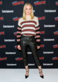 Sophie Turner attends Entertainment Weekly's Panel at New York Comic Con 2018 (NYCC 2018) in New York City