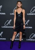 Stefanie Giesinger attends the CR Fashion Book x Luisasaviaroma photocall during Paris Fashion Week in Paris, France