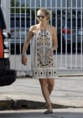 Teresa Palmer steps out for a stroll with her kids in Hollywood, Los Angeles