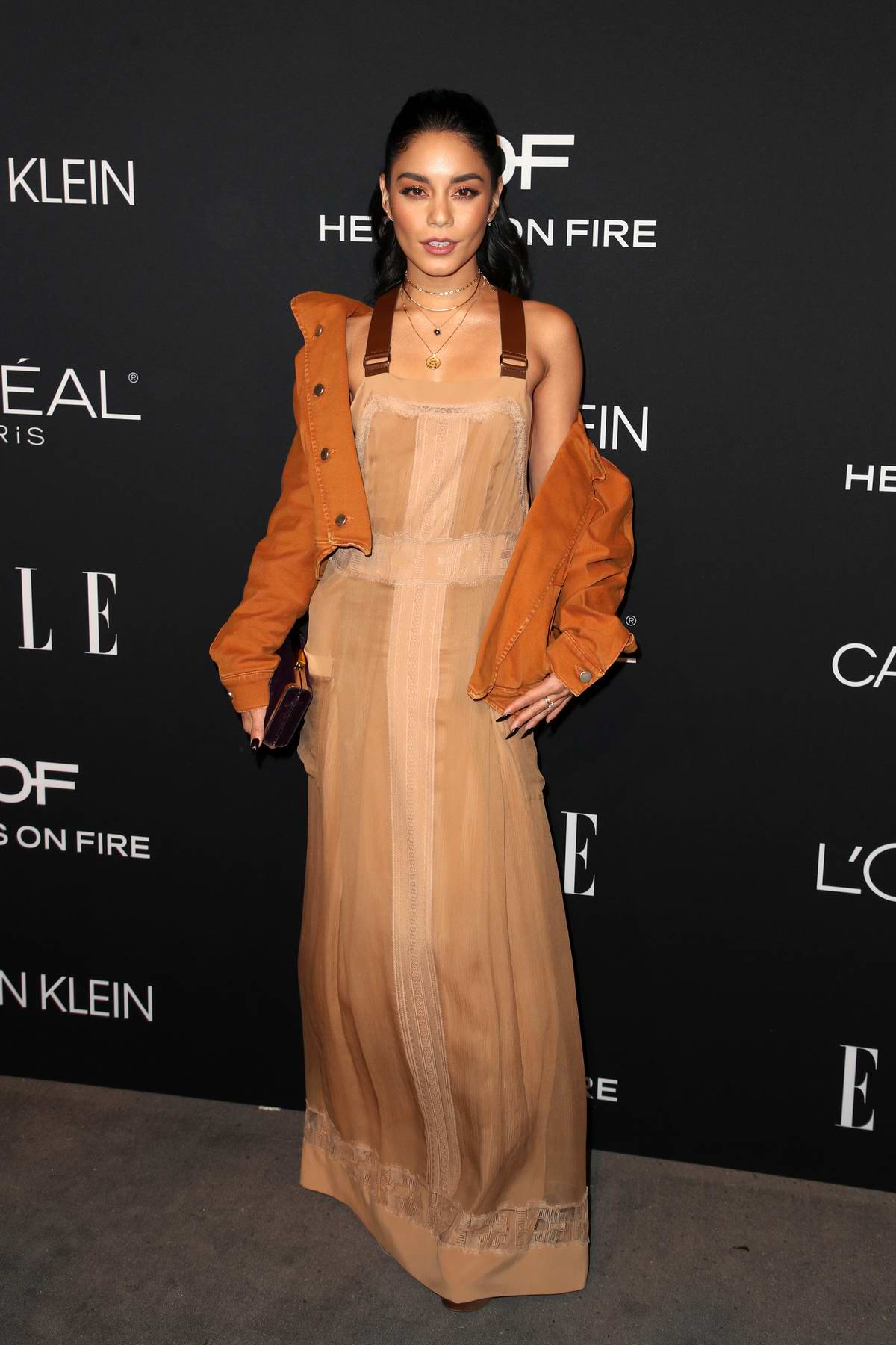 Vanessa Hudgens attends ELLE's 25th Annual Women In Hollywood Celebration at the Four Seasons Hotel in Beverly Hills, Los Angeles
