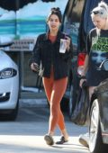 Vanessa Hudgens leaving a pilates class after her morning workout in Studio City, Los Angeles