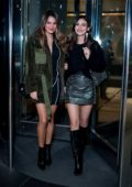 Victoria Justice and Madison Reed seen leaving an event in New York City