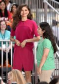 Zendaya Coleman attends NBC's 'Today' Celebrates The International Day Of The Girl in New York City
