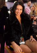 Adriana Lima seen Backstage during the 2018 Victoria's Secret Fashion Show in New York City