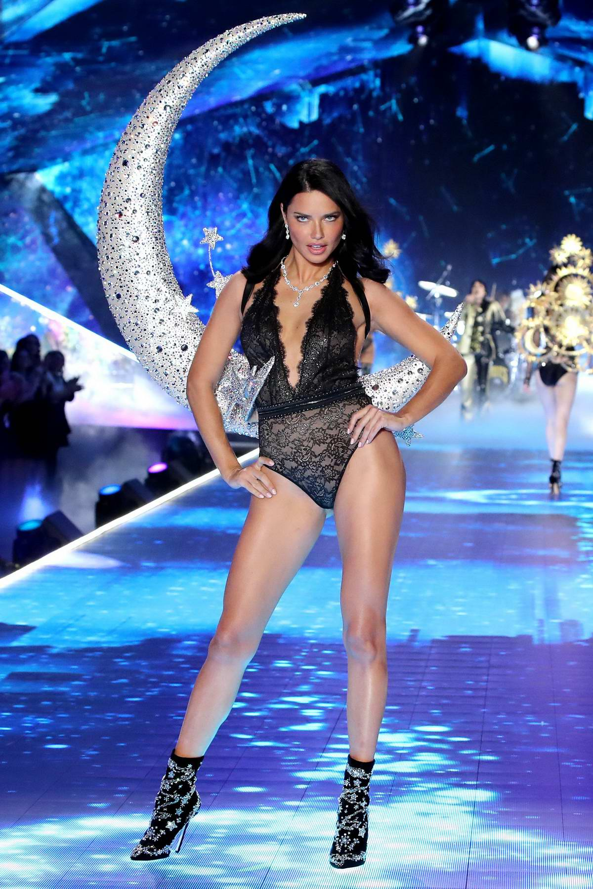 f24d6a5d12 adriana lima walks the runway during the 2018 victoria s secret ...