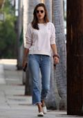 Alessandra Ambrosio takes her son for ice cream after his basketball game in Pacific Palisades, California