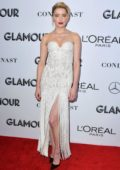 Amber Heard attends the Glamour Women of the Year Awards 2018 in New York City