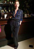 Amber Heard attends the Glenlivet Hosts Conversations For Change dinner honoring Lisa Borders in New York City