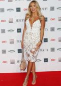 Amber Turner attends the OK! Beauty Awards at Park Plaza Westminster Bridge in London, UK