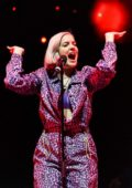 Anne-Marie performs live at Hits Radio Live 2018 at Manchester Arena in Manchester, UK