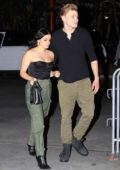 Ariel Winter and Levi Meaden spotted at the Lakers game in Los Angeles