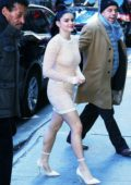 Ariel Winter arrives for her appearance on ABC's 'Good Morning America' in Times Square, New York City