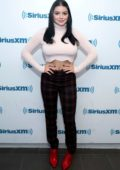 Ariel Winter visits SiriusXM Studios in New York City