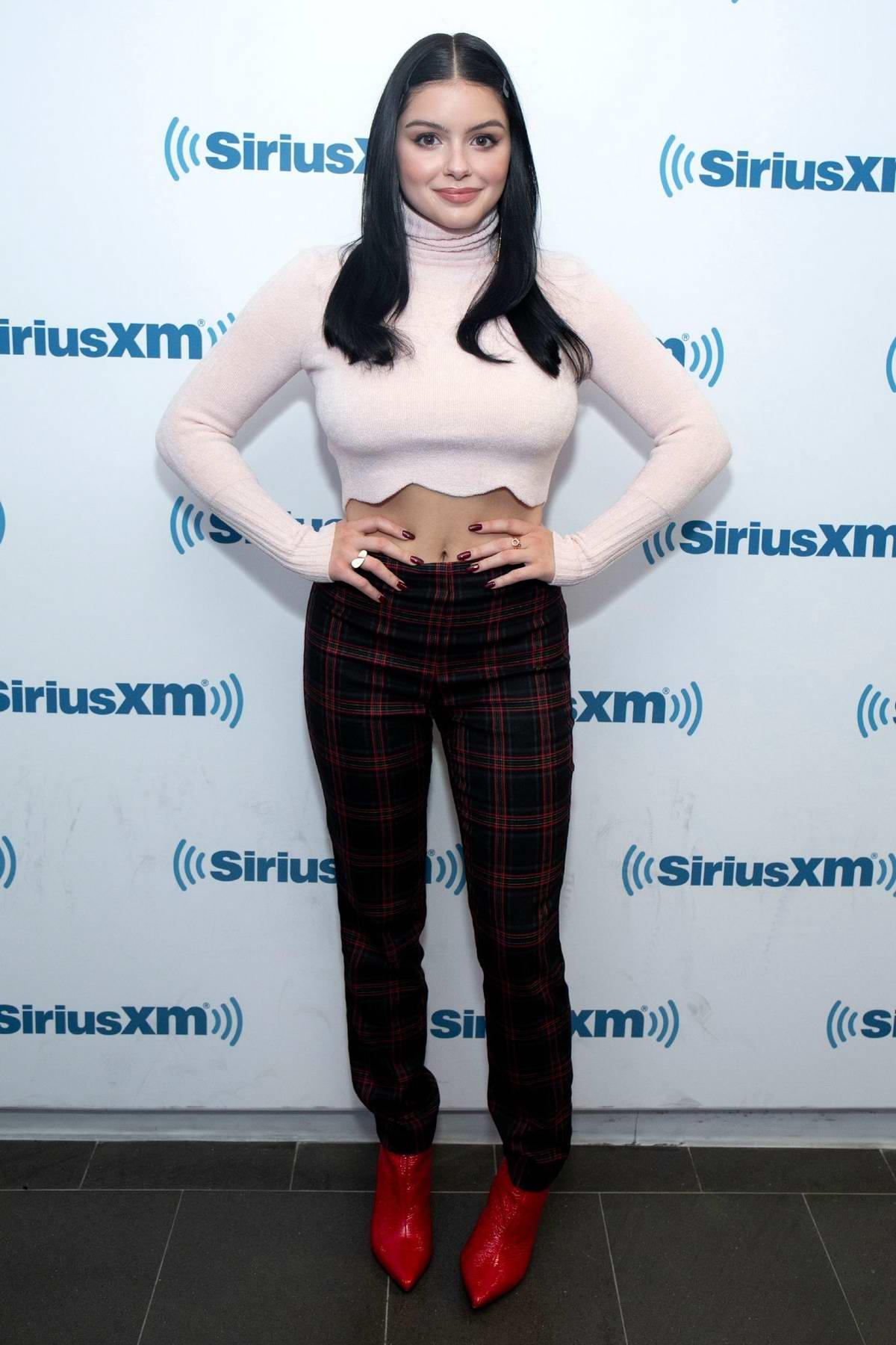 Ariel Winter visits SiriusXM Studios in New York City
