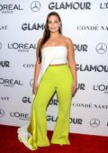 Ashley Graham attends the Glamour Women of the Year Awards 2018 in New York City