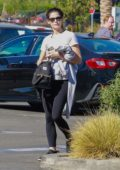Ashley Greene seen out shopping with her father at Lowes in Burbank, California