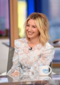 Ashley Tisdale visits Good Morning America on GMA Day in New York City