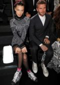Bella Hadid and David Beckham attends the photocall for Dior Pre-Fall 2019 Men's Collection at Telecom Center in Tokyo, Japan