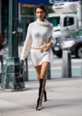 Bella Hadid attends fittings for the 2018 Victoria's Secret Fashion Show in Midtown in New York City