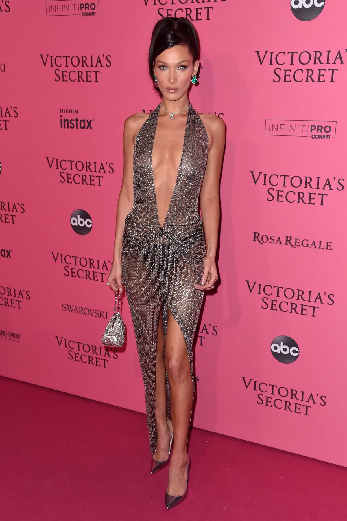 Bella Hadid attends the 2018 Victoria's Secret Fashion Show After-Party in New York City