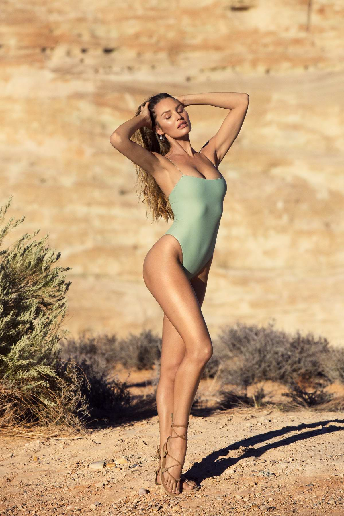 Candice Swanepoel in Tropic Of C Resort Collection 2019 Photoshoot