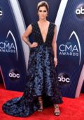 Cassadee Pope attends 52nd annual CMA Awards at the Bridgestone Arena in Nashville, Tennessee