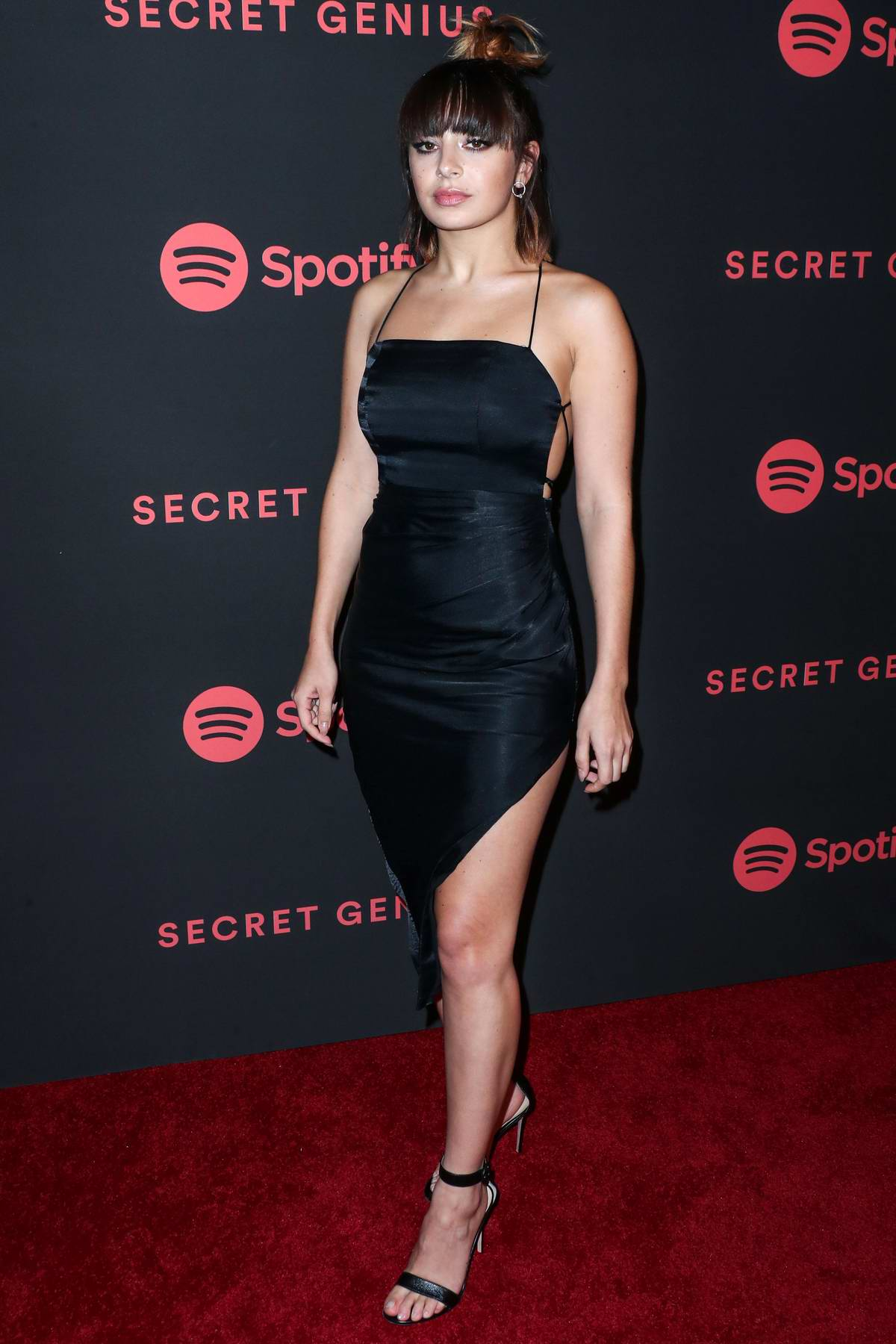 Charli XCX attends Spotify Secret Genius Awards 2018 in Los Angeles