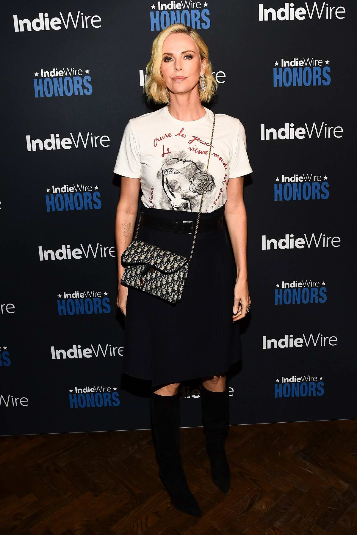 Charlize Theron attends the 2018 IndieWire Honors at No Name in Los Angeles