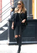 Chrissy Teigen steps out in all black while errands in SoHo, New York City