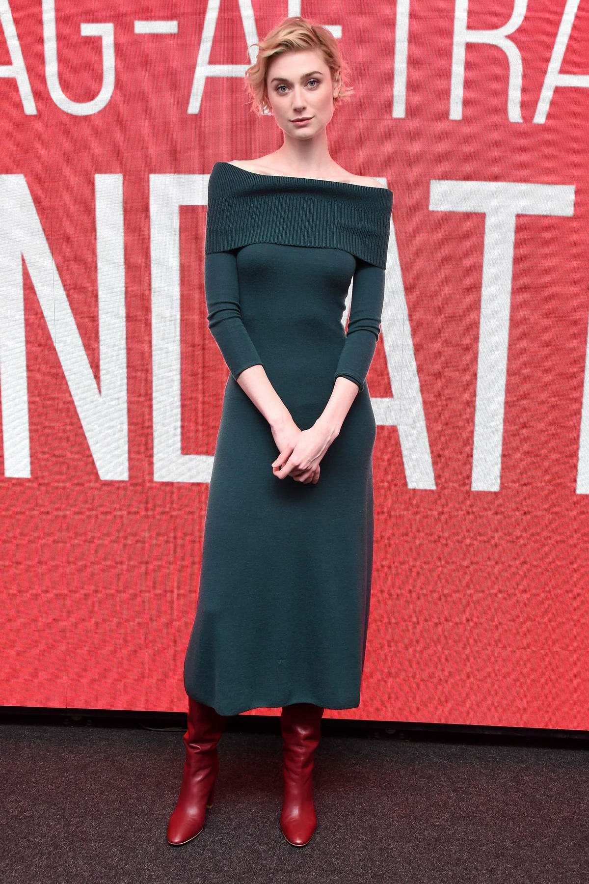 Elizabeth Debicki attends SAG-AFTRA Foundation Conversations for 'Widows' at The Robin Williams Center in New York City