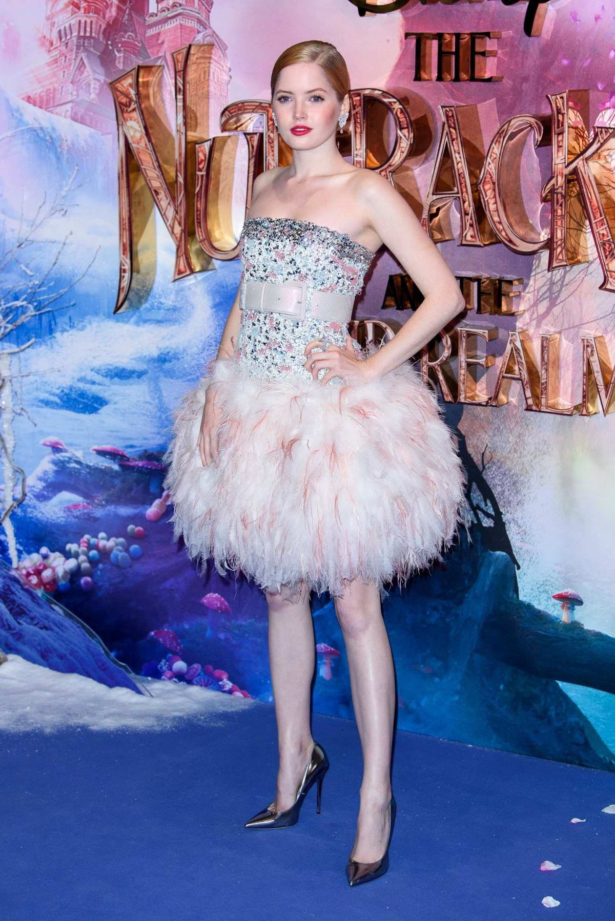Ellie Bamber attends 'The Nutcracker And The Four Realms' Premiere in London, UK
