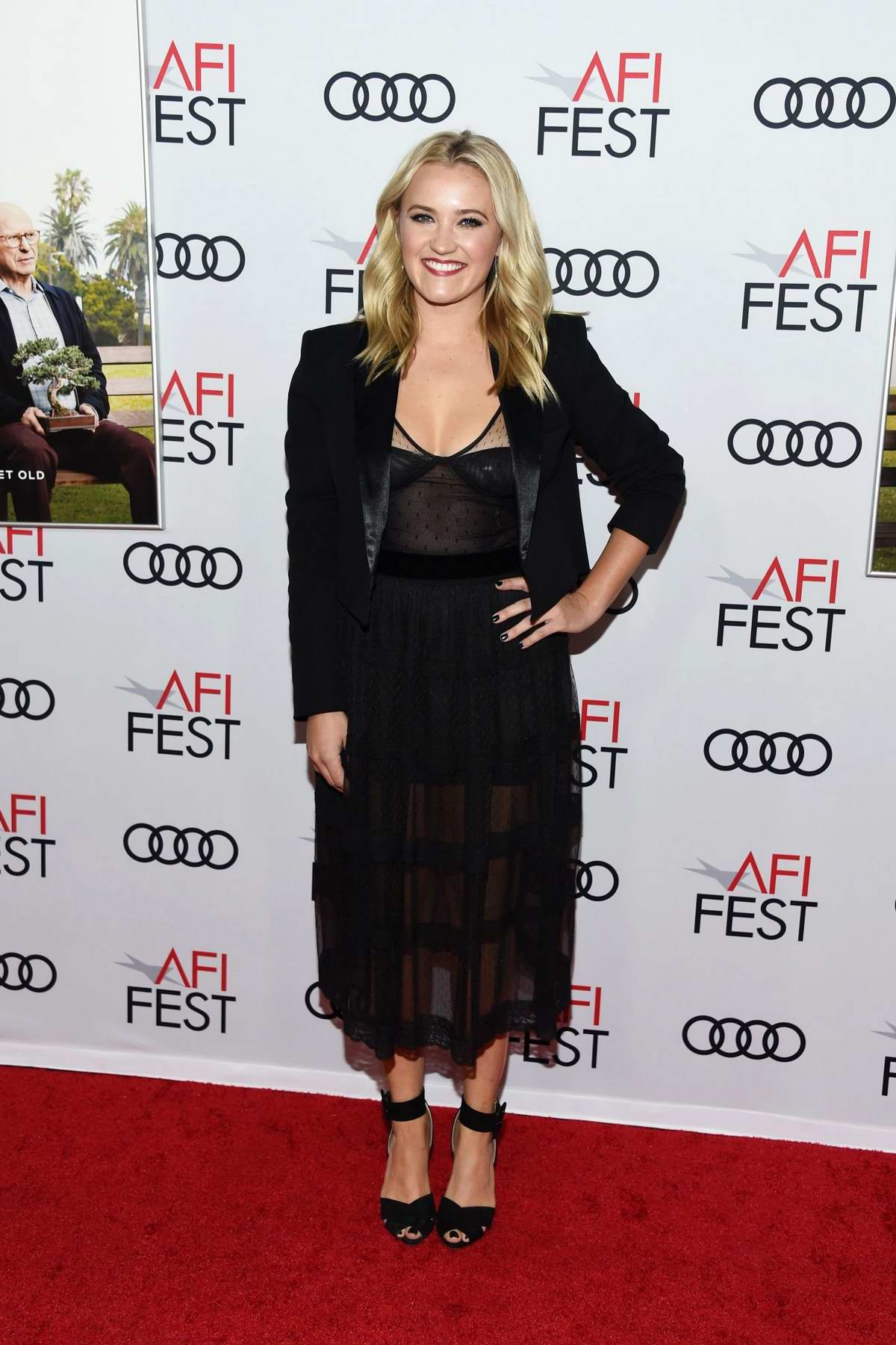 Emily Osment attends The Gala Screening of 'The Kominsky Method' at AFI FEST 2018 in Hollywood, California