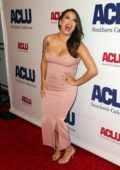 Eva Longoria attends the ACLU's Annual Bill Of Rights Dinner at the Beverly Wilshire Four Seasons Hotel in Beverly Hills, Los Angeles