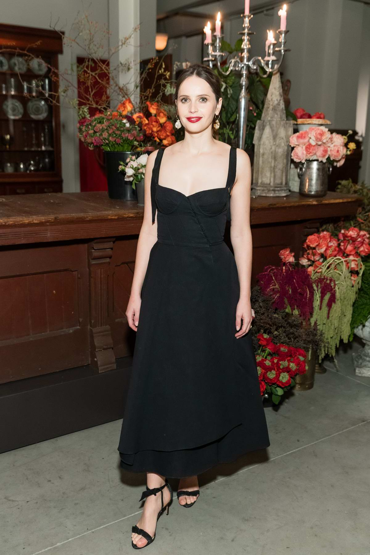 Felicity Jones attends screening of her new movie 'On The Basis Of Sex' in San Francisco, California