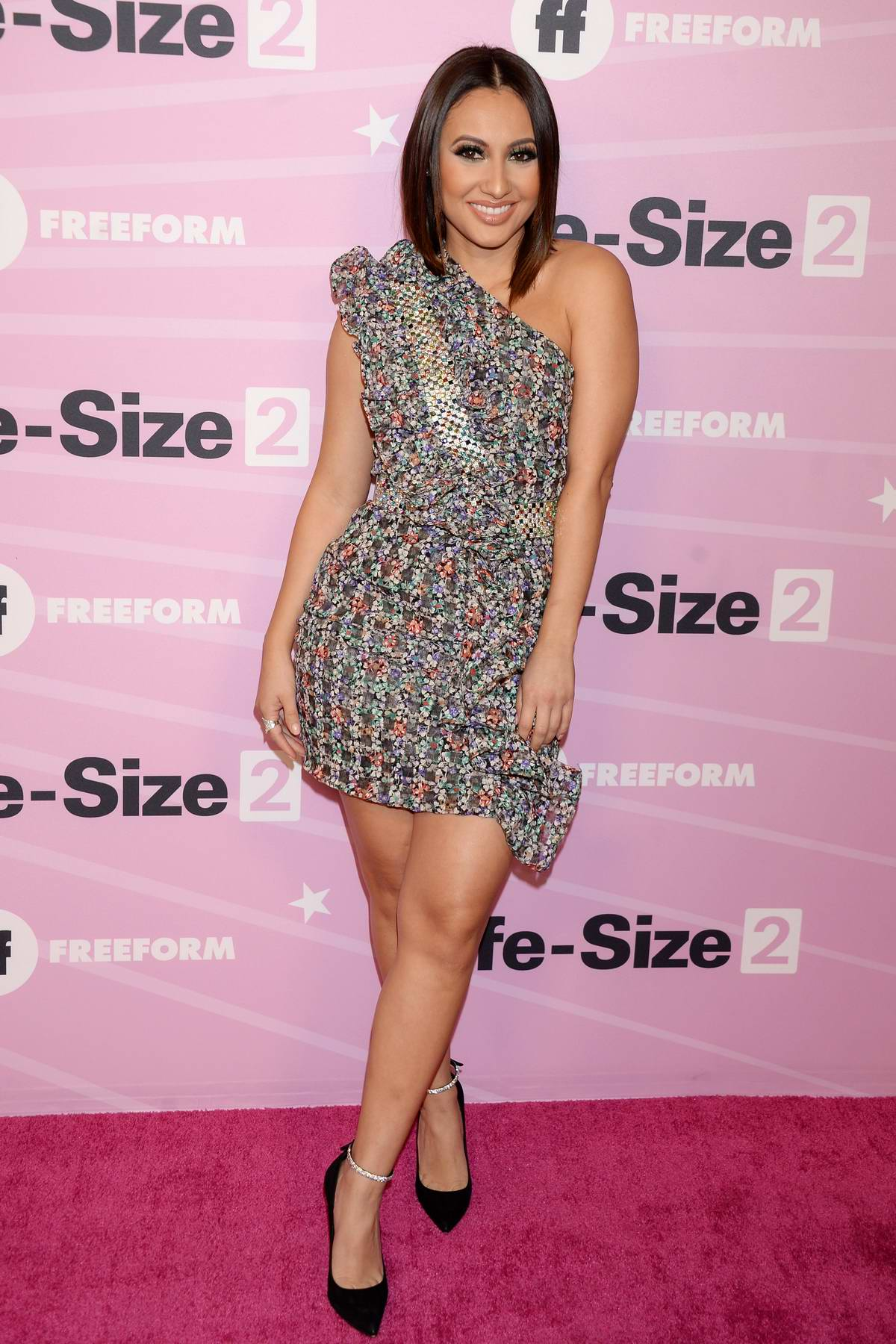 Francia Raisa attends 'Life Size 2' Premiere in Hollywood, California