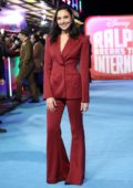 Gal Gadot attends Premiere of 'Ralph Breaks The Internet' at Curzon Mayfair in London, UK