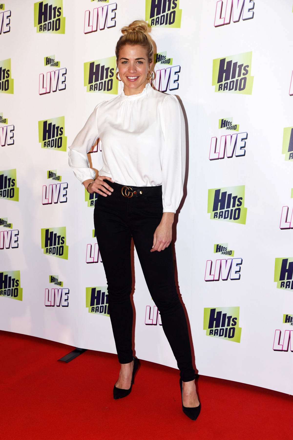 Gemma Atkinson attends Hits Radio Live 2018 at Manchester Arena in Manchester, UK