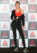 Gigi Hadid attends the Reebok Talk Event at Crossfit Toranomon in Tokyo, Japan