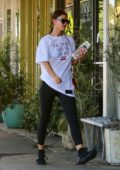 Irina Shayk seen while visiting Bellacures Spa in Santa Monica, California